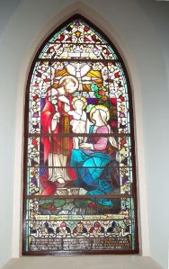 Stained-glass window dedicated to Myles Walter Keogh, Tinryland Church, Co. Carlow (Photograph: Robert Doyle)